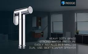 Bidet Diaper Sprayer Handheld Bidet Sprayer For Toilet Set Premium Brass Hand Bidet