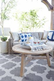 At Home Patio Furniture Backyard Patio Party Tour Zdesign At Home