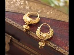 gold earings gold earrings in hoop designs