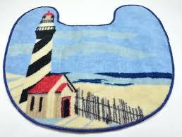 Lighthouse Bathroom Rugs Lighthouse Bath Rugs Lighthouse Bathroom Rug And Nautical Toilet