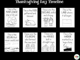 teach sequence of events with the thanksgiving day read