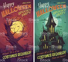 halloween posters stock vector art 513646355 istock
