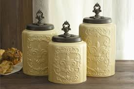 canisters for kitchen counter kitchen canister set and jars rustic kitchen canisters country