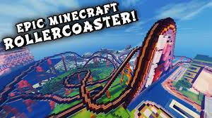Mc Maps Minecraft Maps Epic Rollercoaster When Pigs Fly Rollercoaster