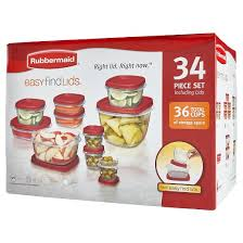 Food Storage Container Sets - food storage container set 34pc red rubbermaid target