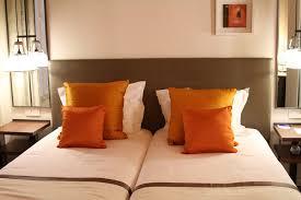 chambre marron déco chambre orange marron exemples d aménagements
