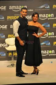 amazon prime bollywood movies angad bedi richa chadda at trailer launch of indiai u0027s 1st amazon