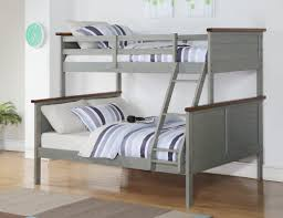 Twin And Full Bunk Beds by Donco Kids Panel Twin Over Full Bunk Bed U0026 Reviews Wayfair