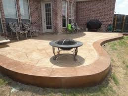 Colored Concrete Patio Pictures Flagstone Stamped Concrete Gallery Decorative And Stamped