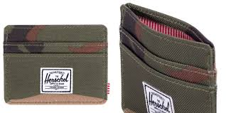 Money Clip Wallet Id Window Herschel Supply Co Wallets Are Slim Stylish And Very Affordable