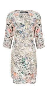 coster copenhagen coster copenhagen leaf print dress in leave print