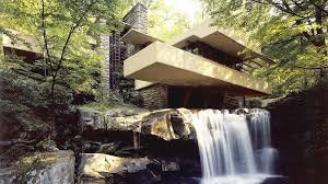 frank lloyd wright waterfall fallingwater wttw chicago