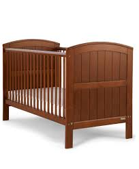 Silver Cross Nostalgia Sleigh Cot Bed Hayworth Cot Toddler Bed Walnut Dark Wood Finishes Mamas