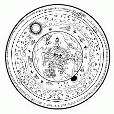 free printable christmas mandala coloring pages coloring home