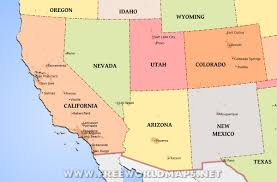 Colorado On The Map by Southwestern Us Maps