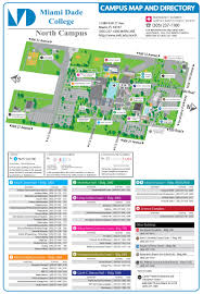 University Of Miami Map Campus Map U0026 Directions North Campus Miami Dade College