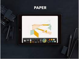 the popular drawing and sketching app paper is now free
