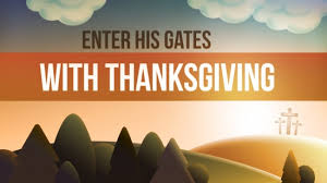 enter his gates with thanksgiving collection now i see media