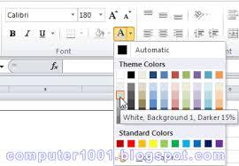 cara membuat tulisan watermark di excel cara membuat watermark nomor halaman di excel computer 1001