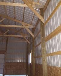 How To Build A Pole Shed Roof by Pole Barn Structure Archives Hansen Buildings