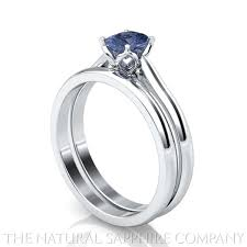 simple sapphire engagement rings sapphire rings and matching wedding bands the