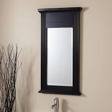 home decor wood framed mirrors for bathroom ceiling mounted
