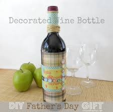 how to decorate a wine bottle for a gift decorated wine bottle diy s day gift