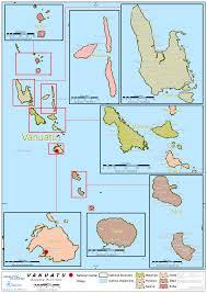 Vanuatu Map 1 Vanuatu Country Profile Logistics Capacity Assessment