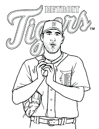 detroit tigers paws coloring pages download nocturnal animals