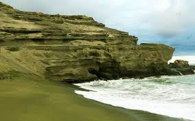 where is the black sand beach the world u0027s strangest beaches travel leisure
