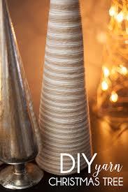 diy yarn christmas tree my crafty spot when life gets creative