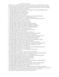 argumentative essay short sample