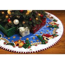 felt tree skirts engelbreit tree