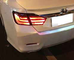 2015 toyota camry tail light led surface emitting tail light rear l 4pcs for toyota 2015