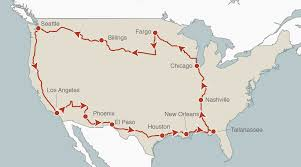Coast Starlight Route Map by America By Bus Al Jazeera America