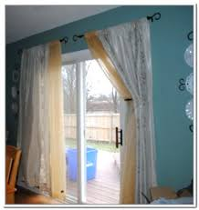 Patio Door Curtains Backyard Door Curtains Patio Door Blinds Sliding Door Curtains