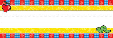 Desk Name Tags by Your Teacher U0027s Aide Apple Classroom Theme