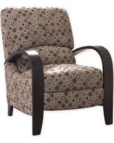 deal alert madison park circle bent arm recliner chair multicolor