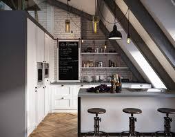 Interior Design For Apartments Dark Color For Small Apartment Interior Design With Exposed Brick