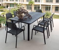 arredo giardino on line set tavolo libeccio allungabile e 8 sedia bora