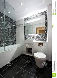 En Suite Bathrooms by Contemporary En Suite Bathroom In Black And White Royalty Free