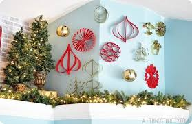 how to make paper ornaments all things thrifty