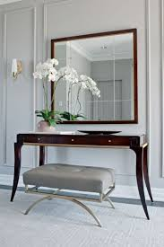 Grey Entryway Table by Furniture Endearing Grey Wall Paint Color And Fancy Dark Brown