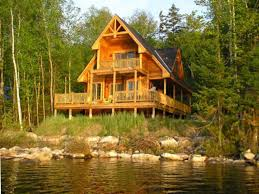 small lake cabin plans house plan ideas