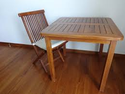 Stylish Folding Chairs Stylish Vintage Wooden Folding Chairs X3 And A Table X1 Singapore