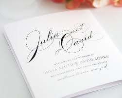 One Page Wedding Program How To Design Wedding Program Template 30 Wedding Program Design