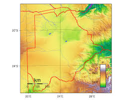 Physical Map Of South Africa by Maps Of Botswana Detailed Map Of Botswana In English Tourist