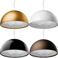 buy flos f6410030 skygarden s1 ceiling pendant in glossy black at