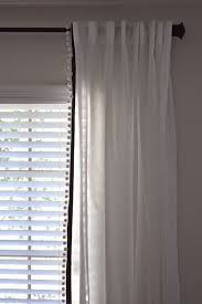 Outer Space Window Curtains by Made2make Pom Pom Trimmed Curtains