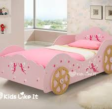fairy bed girls pink fairy star princess carrige single bed kids like it